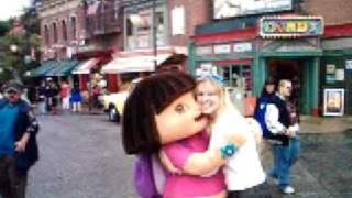 Isabella and Dora  - Universal Studios