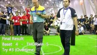 RoboCup 2015 Adult Size FINAL: IRAN / USA (Baset vs THORwin)
