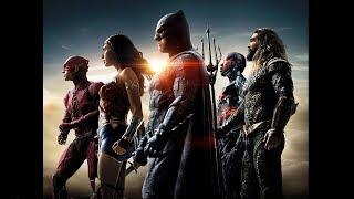 Justice League in action. Movie scenes