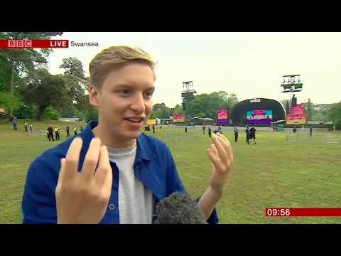 George Ezra live on BBC Breakfast. Short Interview. The Biggest Weekend