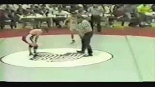 1987 Region I Finals 116 Lb (pt II)