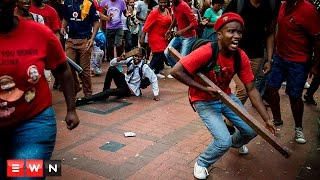 ANC and EFF supporters come to blows in St George's Mall