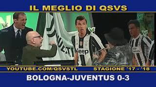QSVS - I GOL DI BOLOGNA - JUVENTUS 0-3   - TELELOMBARDIA / TOP CALCIO 24