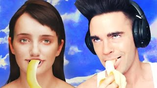 EVIE LOVES BANANAS?!