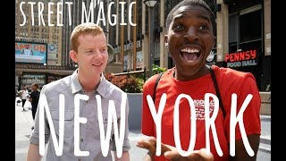UK Magician KILLS IT in New York City !!