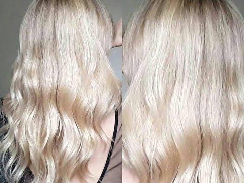 Xxx Mp4 Application Patine Routine Capillaire♡ Déjaunir Tout Les Secrets De Mon Blond 3gp Sex
