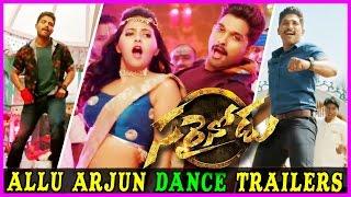 Sarrainodu Allu Arjun Dance Promos    Sarainodu Back 2 Back Song Trailers - Rakul