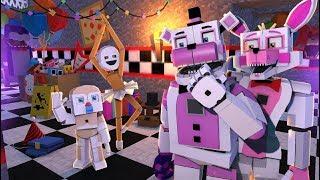 Minecraft Fnaf: Sister Location - Bidybab and Minireena Daycare (Minecraft Roleplay)