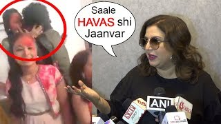 ANGRY Farah Khan's SHOCKING Comment On Papon KISS Controversy | Voice India Season 2 contestant