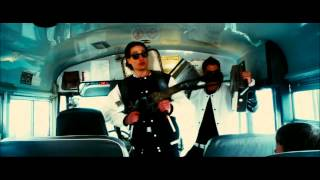Hobo with a Shotgun school bus scene HD