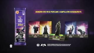 Cadbury Dairy Milk – Edisi Batman vs. Superman