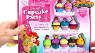 Disney Princess Cupcake Party Game!
