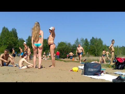 Torfyanka beach.18.05.14. Moscow Region Korolev Russia. Торфя� ка