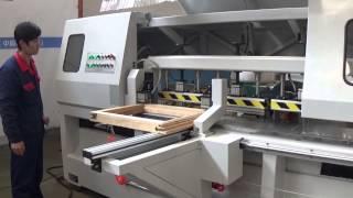 wood door and window milling machine