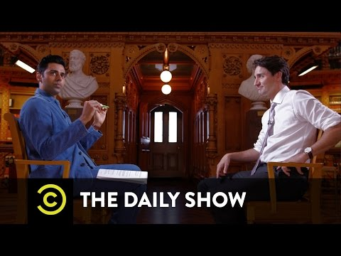 Prime Minister Justin Trudeau Welcomes Syrian Refugees to Canada The Daily Show
