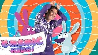 Cosmic Kids Yoga Disco | Bunny Bounce!