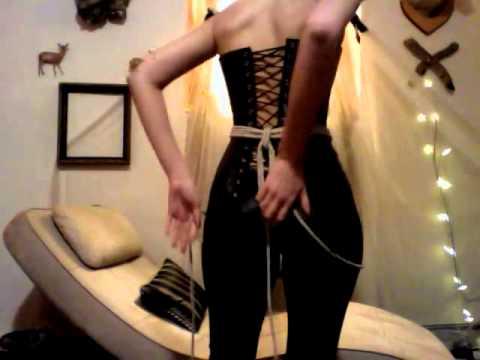How to make a Strap On Dildo Harness using Shibari Japanese rope bondage