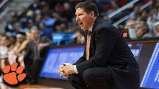 Brad Brownell: Clemson Football Increases Expectations On Basketball