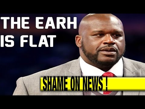 Shaquille O Neal Says The Earth is FLAT