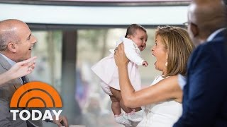 Hoda Kotb's Baby Haley Joy Joins TODAY For A Sweet Mother's Day Surprise! | TODAY