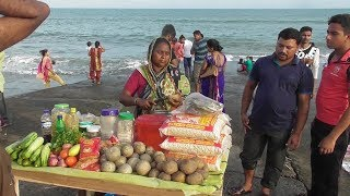 Delicious Masala Kot Bel (Wood Apple) | Besides Old Digha Sea Beach WB | Indian Street Food