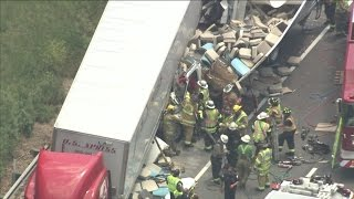 Chopper 3 Over Pa. Turnpike Accident