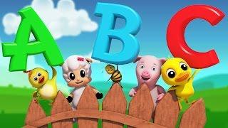 abc Song | nursery rhymes | Farmees | Baby Song