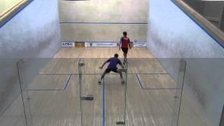 [1] Karim Ali Fathi (EGY) vs. Cameron Stafford (CAY)