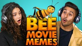 BEE MOVIE MEMES | COLLEGE KIDS REACT