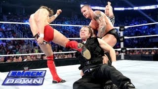 Kane, Daniel Bryan & Randy Orton vs. The Shield: SmackDown, June 14, 2013