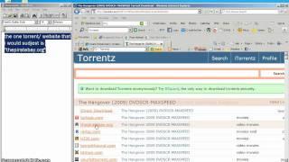 how to download movies using torrentz/utorrent