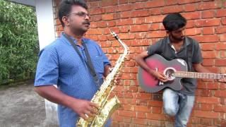 tere bina zindagi se koi saxophone cover