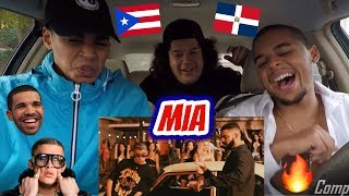 Bad Bunny feat. Drake - Mia ( Video Oficial ) REACTION REVIEW