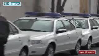 Iran IKCO Soren Bi fuel CNG & Benzin vehicles for Armenia Police سورن ايران خودرو پليس ارمنستان
