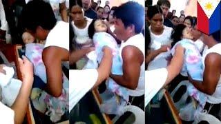 VIDEO: 3-year-old na bata sa Pilipinas, nabuhay sa sarili niyang libing!