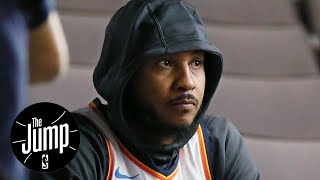 Carmelo Anthony cool with complementary role on Thunder? | The Jump | ESPN