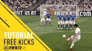 FIFA 17 Tutorial - Free Kicks