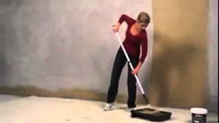 How to paint brick, concrete and cement: Dulux Texture Rock