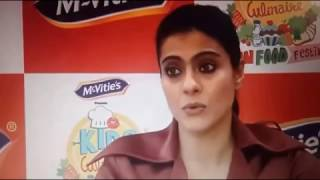 Vivacious kajol launched Mcvities New Tasty Cream biscuits
