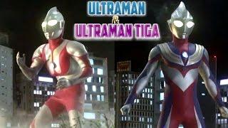 Ultraman X The Movie | Ultraman & Ultraman Tiga vs Gorg Fire Golza & Gorg Antlar (Clip)