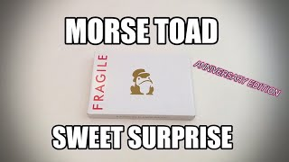 Morse Toad Sweet Gift for my Anniversary