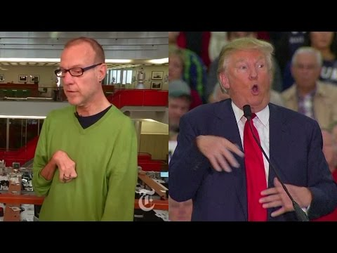 Trump Mocks Reporter s Disability Claims They Never Met. Met Him 12 Times