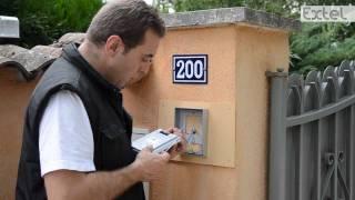 LOONA-Installation du visiophone EXTEL (portier vidéo)