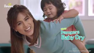 Toni Gonzaga and Baby Seve Go Galaw with the All New Pampers Baby Dry! #PampersGoGalaw