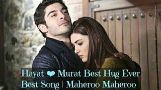 Hayat | Murat | Best Hug Ever | Maheroo Maheroo | Hayat Murat Bollywood Songs