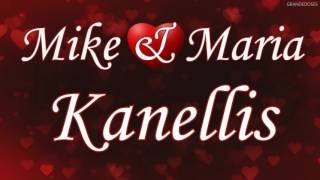 Mike and Maria Kanellis Custom Entrance Video with Theme Recording
