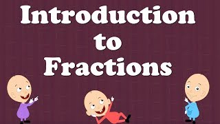 Introduction to Fractions for Kids   #aumsum #kids #education #science #learn