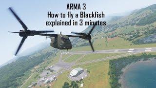 ARMA 3 Apex: How To Fly A Blackfish VTOL