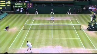 Djokovic vs Federer - Final Wimbledon 2014 - Highlights ITA - ProTeox -