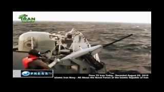 Iran navy confronts Us navy